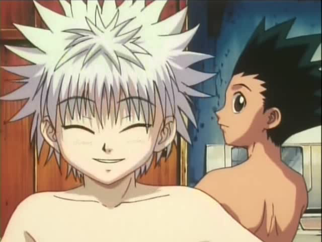 HUNTER X HUNTER EP 46 - NAKED ANIME GUYS